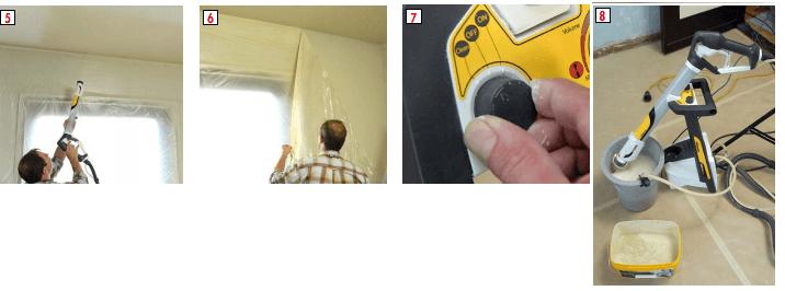 Techniek verfspuiten W985 en schoonmaken